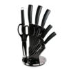 Kép 1/3 - Berlinger Haus kés készlet fekete akril állvánnyal, carbon pro 8 részes