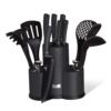 Kép 1/2 - Berlinger Haus kés- és konyhai eszköz készlet, Metallic Line Carbon Pro Edition 12 részes