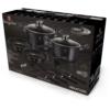 Kép 2/2 - Berlinger Haus edénykészlet serpenyővel, Metallic Line Carbon Pro Edition 10 részes